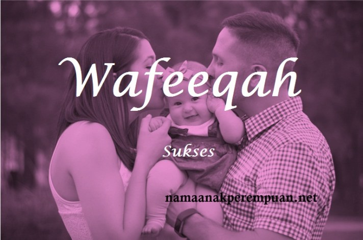arti nama wafeeqah