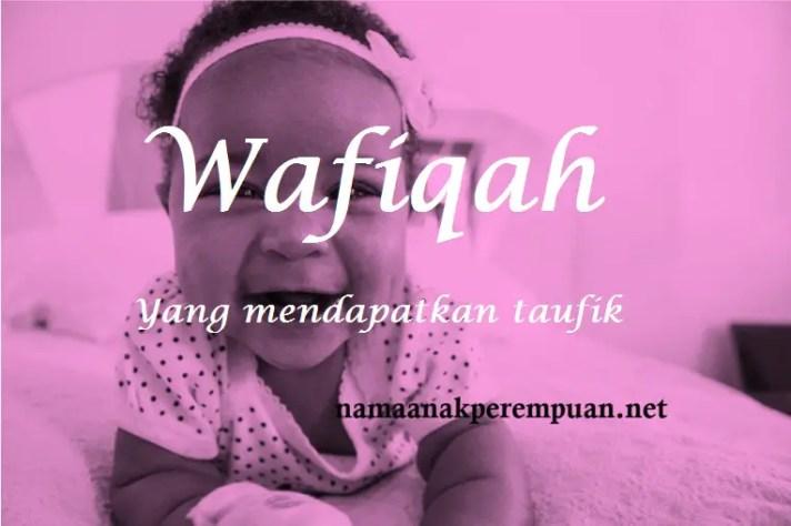 arti nama wafiqah