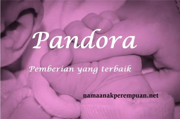 arti nama Pandora