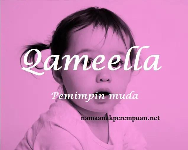 Nama Bayi Perempuan Rangkaian dan Arti Nama Qameella   NamaAnakPerempuan.net