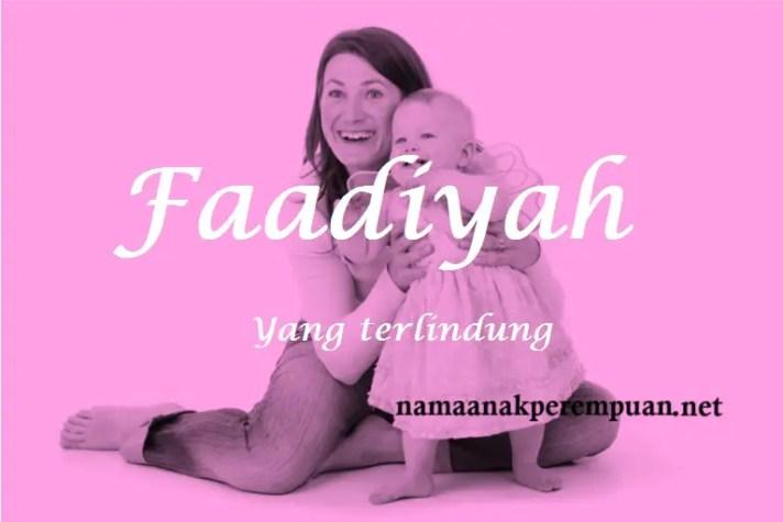 arti nama faadiyah