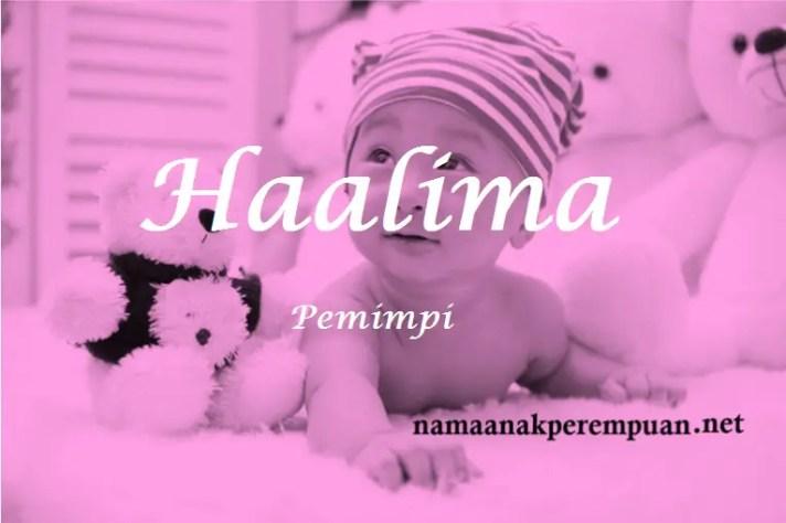 arti nama haalima