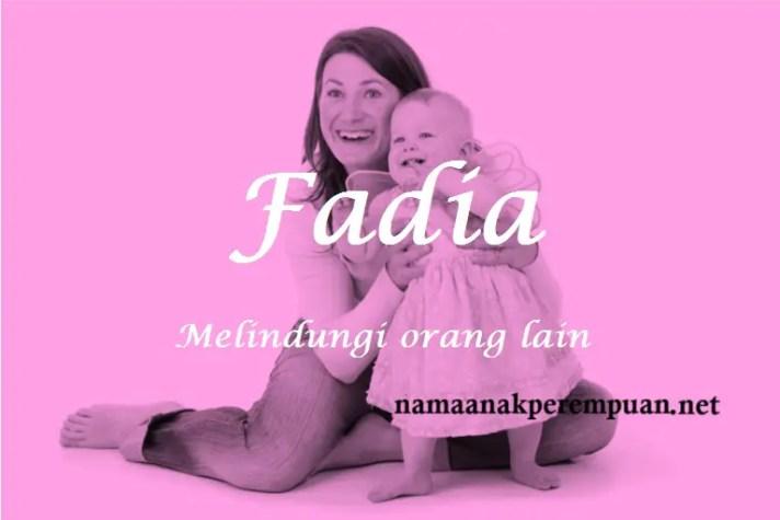 arti nama Fadia
