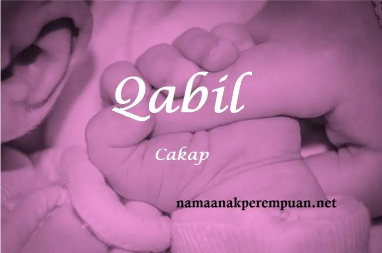 Nama Bayi Perempuan Rangkaian dan Arti Nama Qabil   NamaAnakPerempuan.net