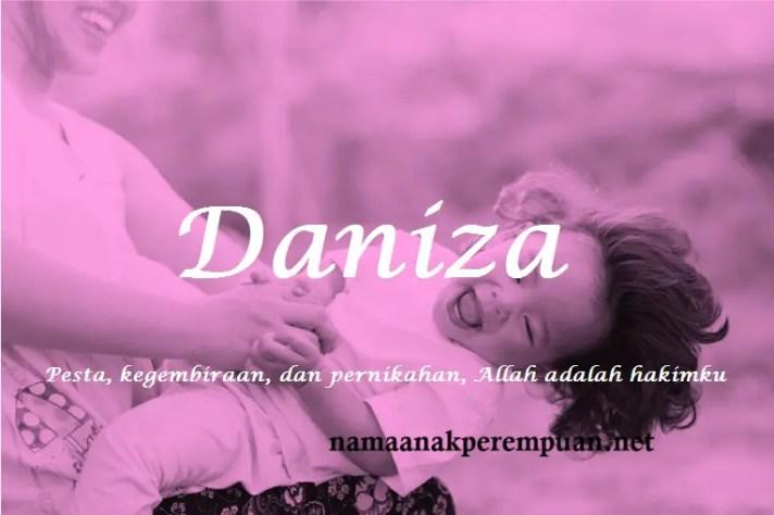 arti nama Daniza