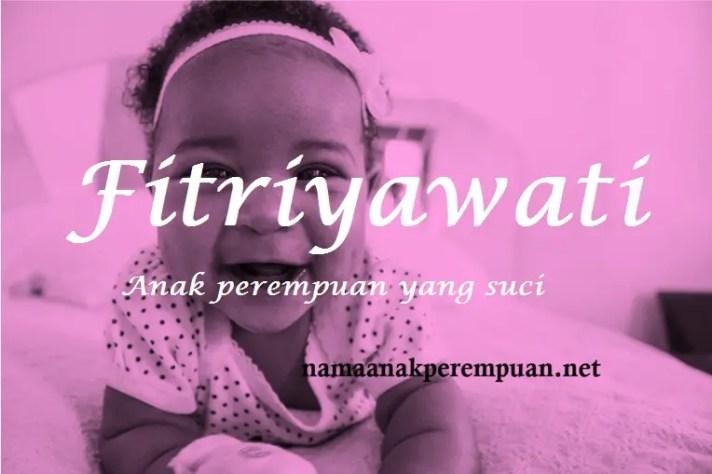 arti nama Fitriyawati