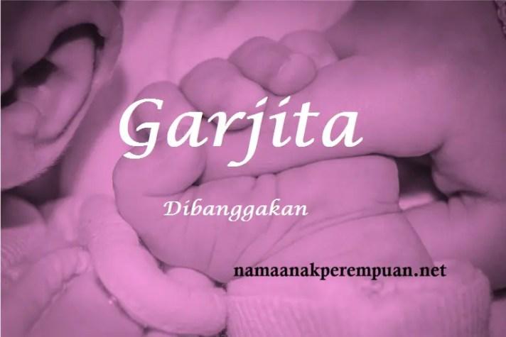 arti nama Garjita