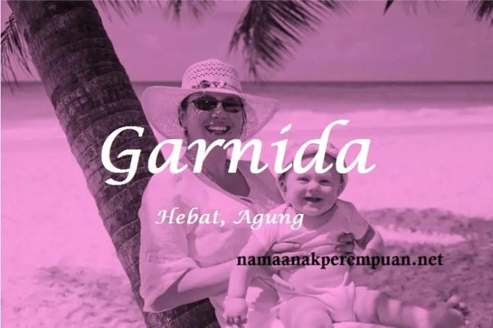 arti nama Garnida