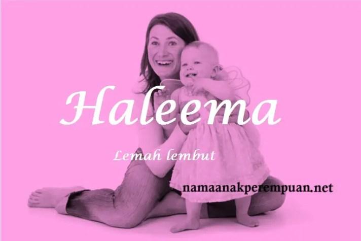 arti nama Haleema