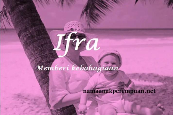 arti nama Ifra