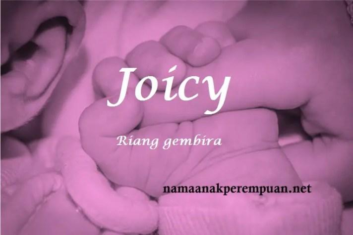 arti nama Joicy