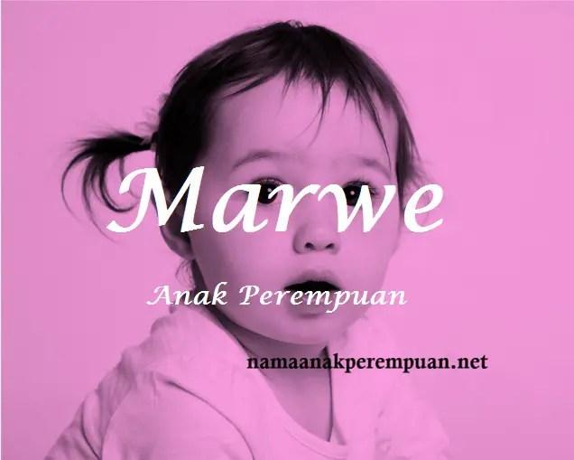arti nama Marwe