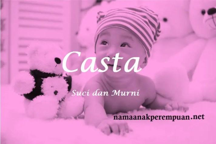 arti nama Casta