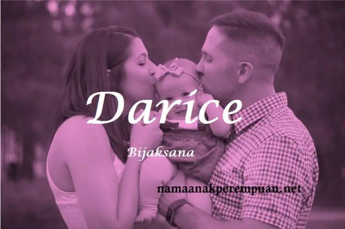 arti nama Darice