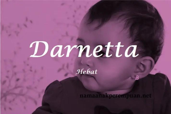 arti nama Darnetta
