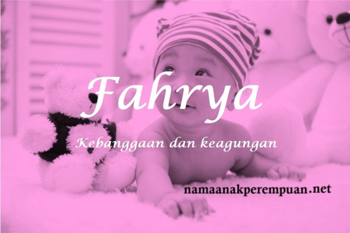 arti nama Fahrya