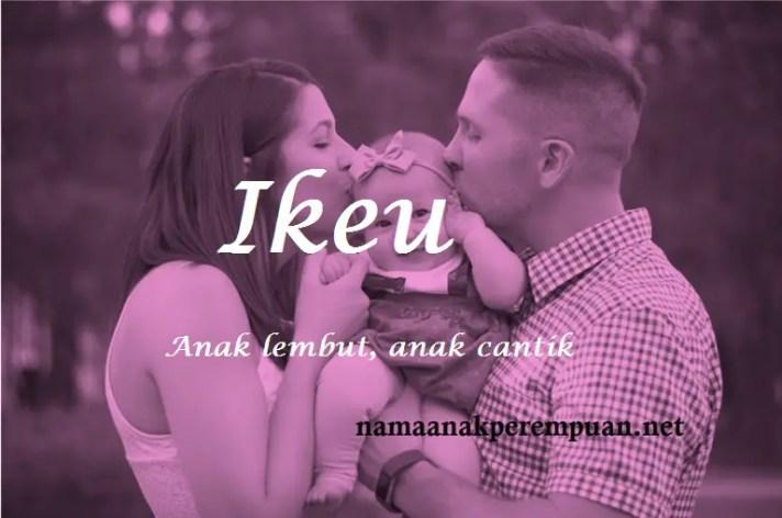 arti nama Ikeu