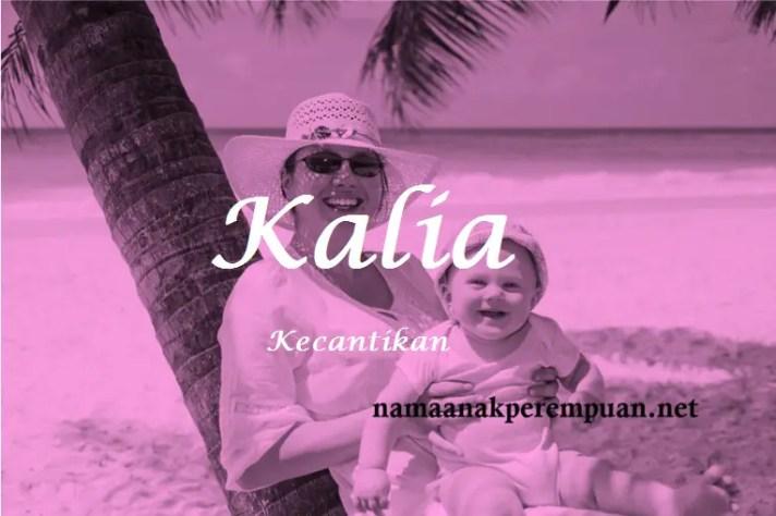 arti nama Kalia