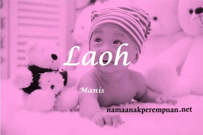 arti nama Laoh
