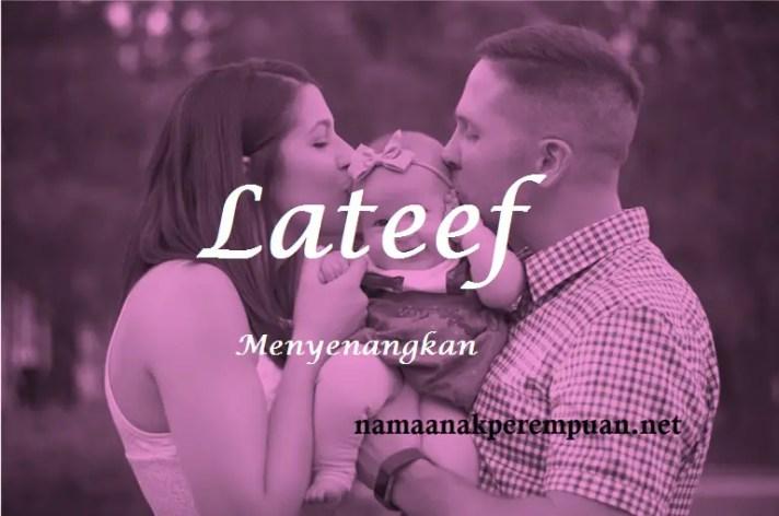 arti nama Lateef
