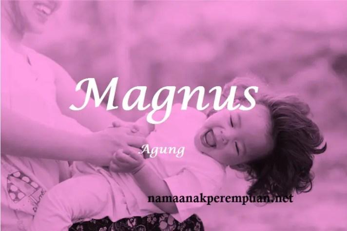 arti nama Magnus