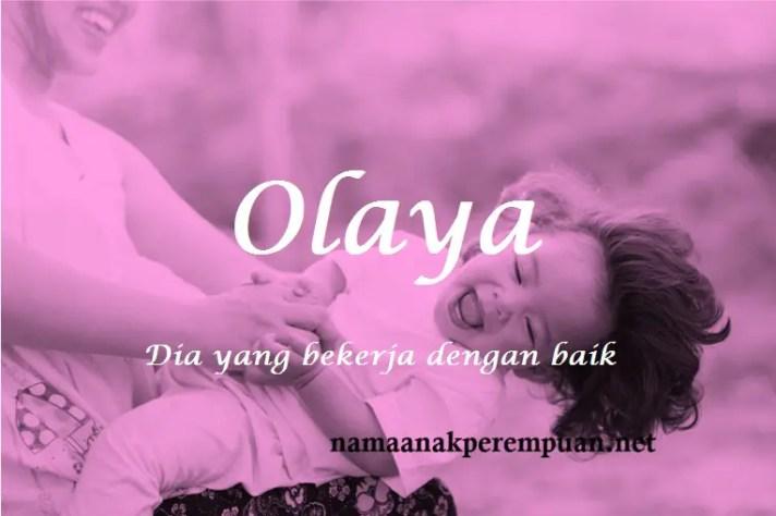 arti nama Olaya