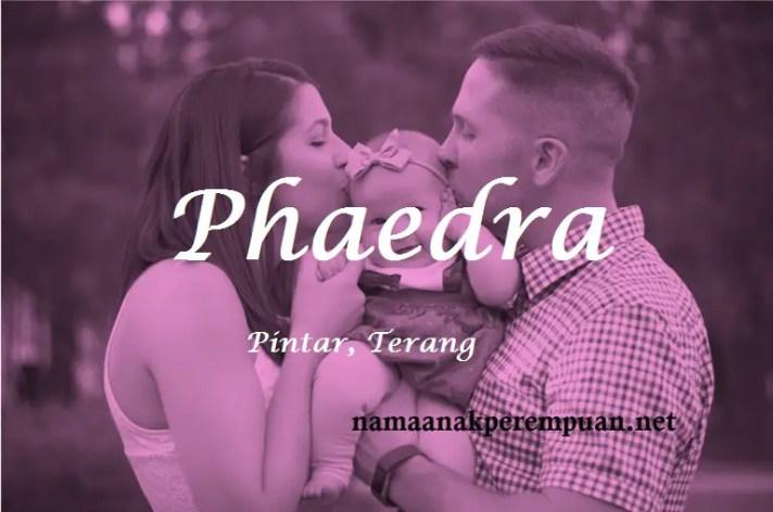 arti nama Phaedra