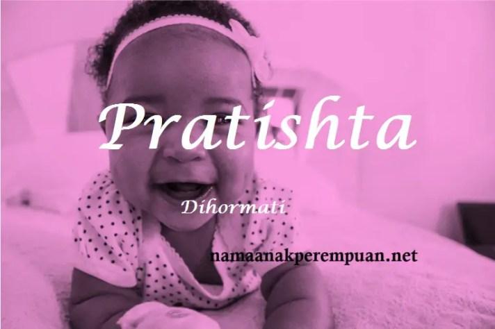 arti nama Pratishta