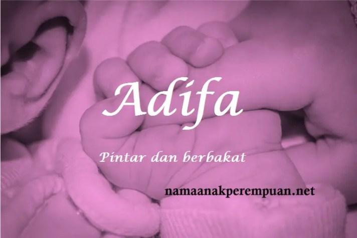 arti nama Adifa