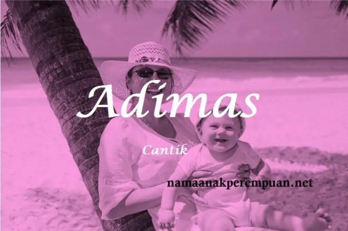 arti nama Adimas