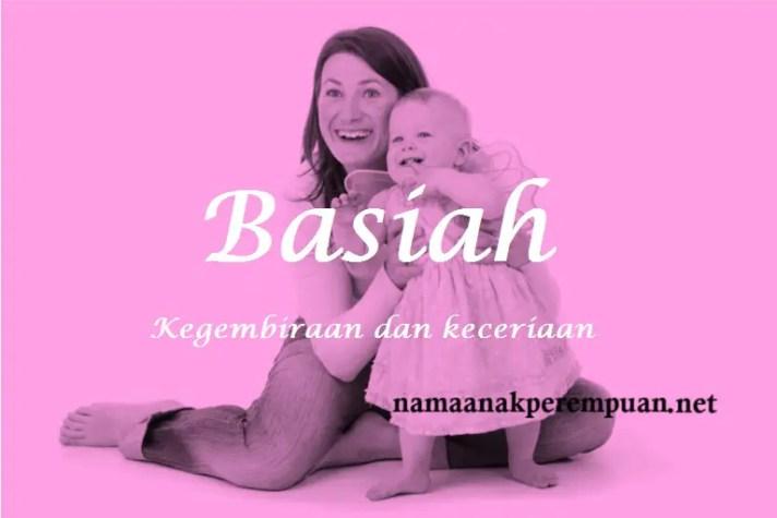 arti nama Basiah