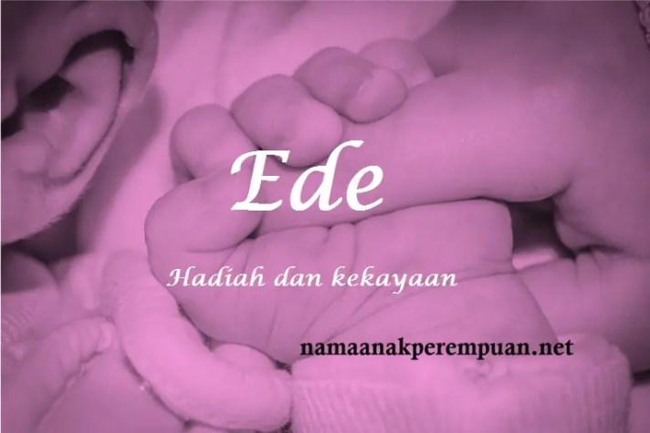 arti nama Ede