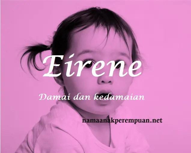 arti nama Eirene
