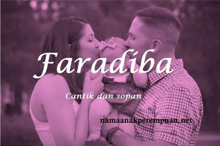 arti nama Faradiba