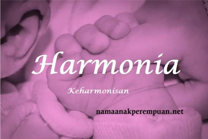 arti nama Harmonia