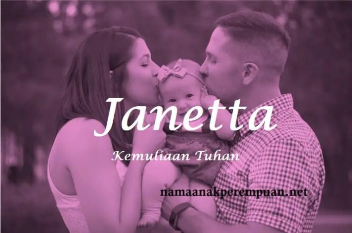 arti nama Janetta