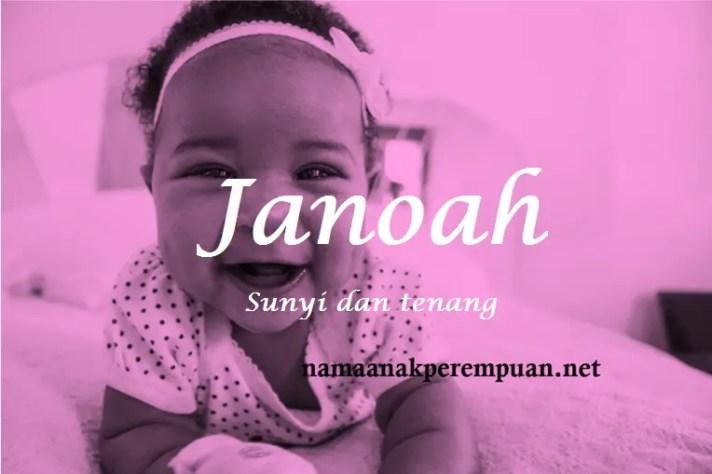 arti nama Janoah