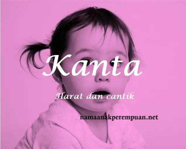 arti nama Kanta