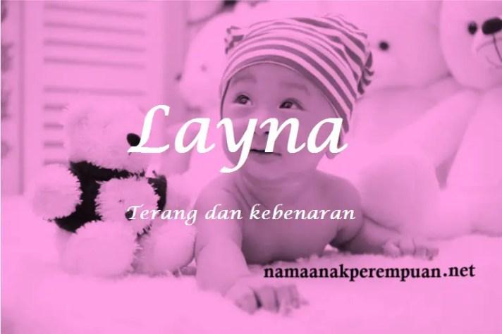 arti nama Layna