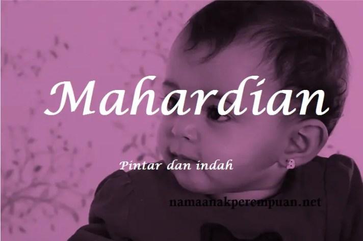 arti nama Mahardian