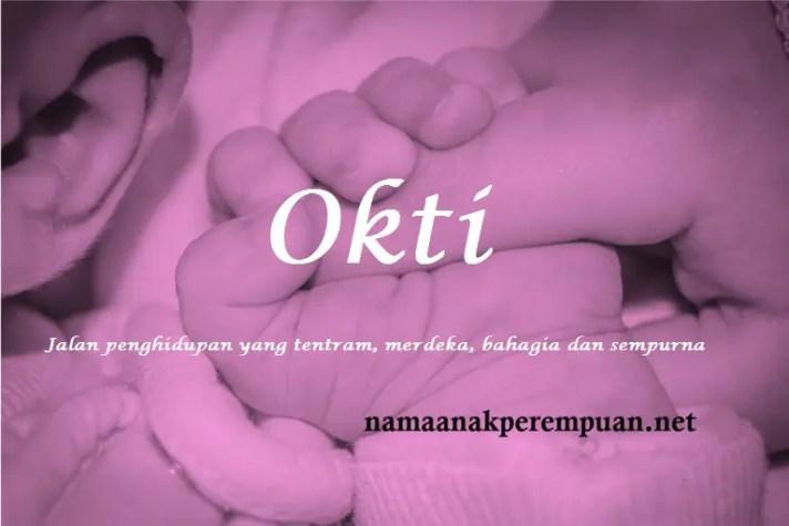 arti nama Okti