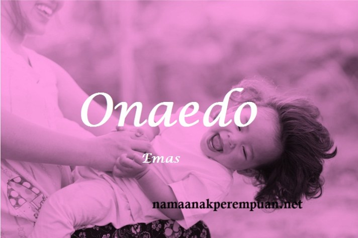 arti nama Onaedo