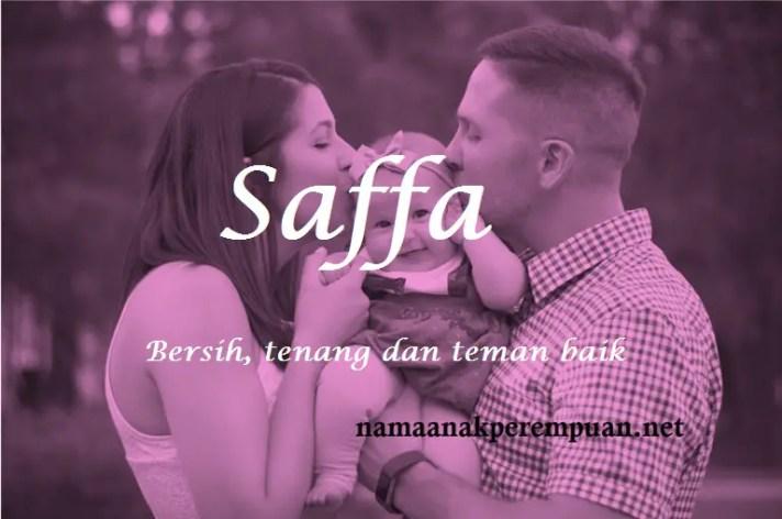 arti nama Saffa