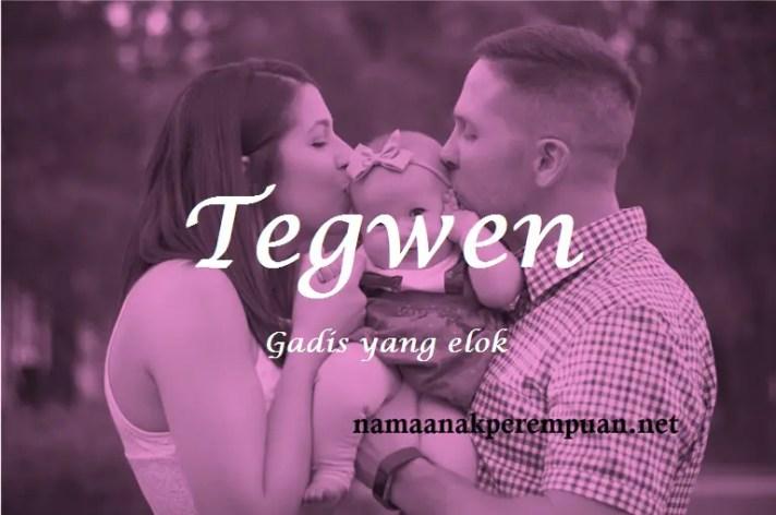 arti nama Tegwen