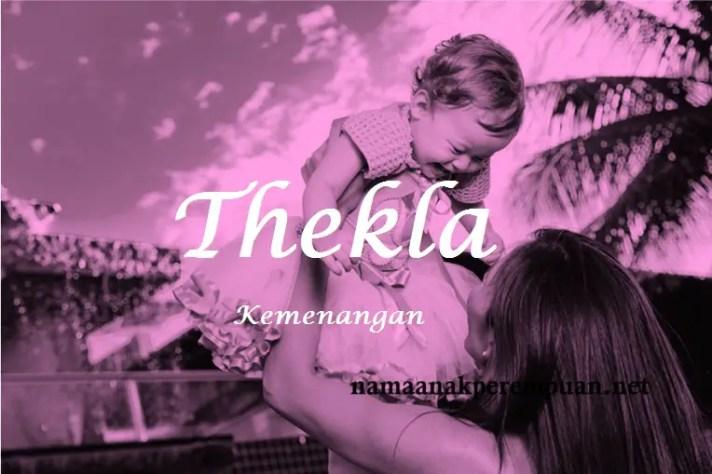 arti nama Thekla