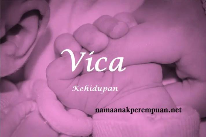 arti nama Vica