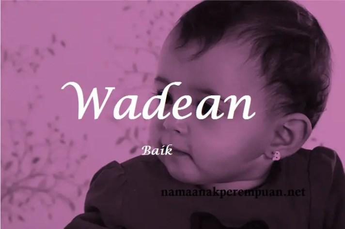 arti nama Wadean