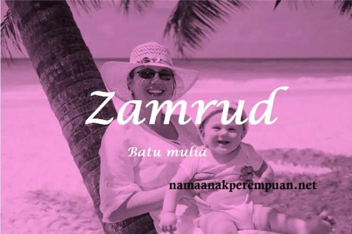 arti nama Zamrud