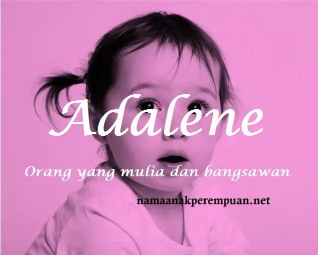 arti nama Adalene