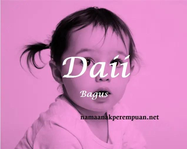 arti nama Daii